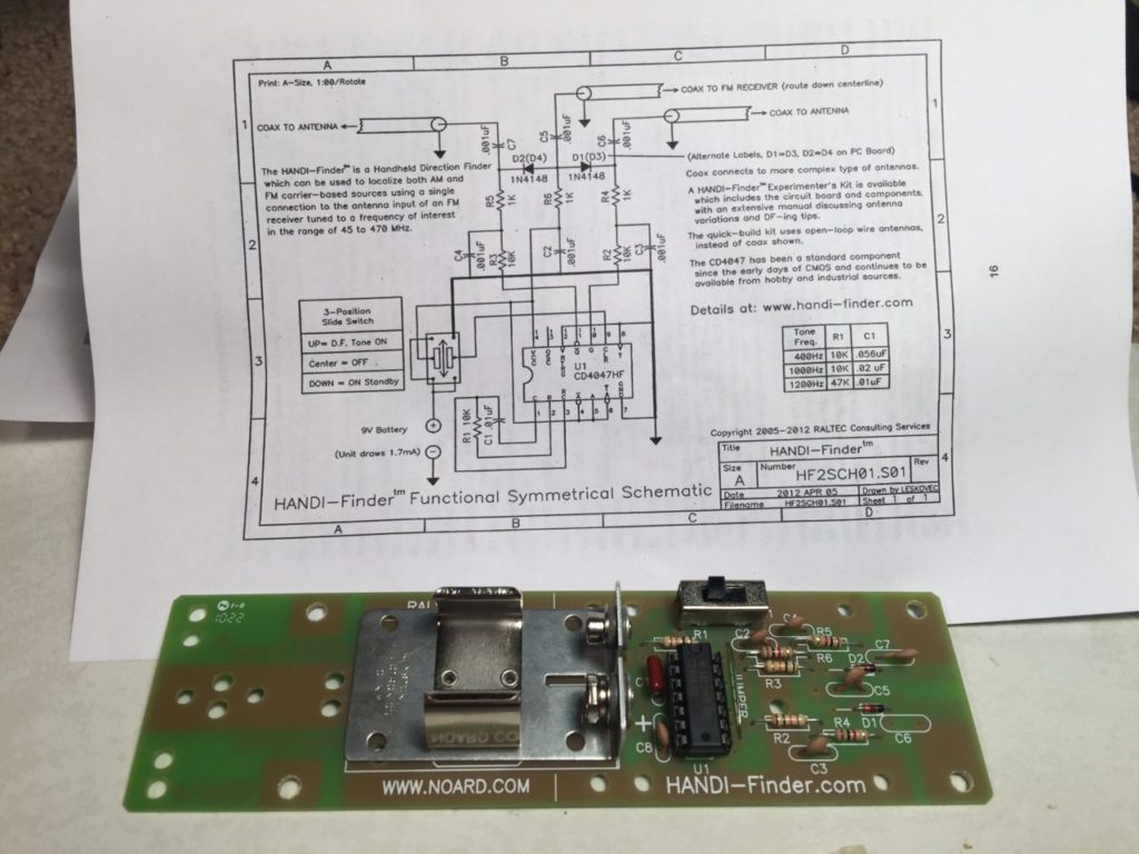 T Hunt Overview Part 2 Handi Finder Johnson Space Center Amateur Hobby Circuit Board Check Out Handy Findercom