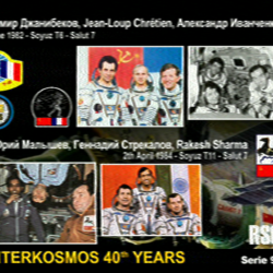 4/12 ISS SSTV Images at W5RRR – Johnson Space Center Amateur Radio Club
